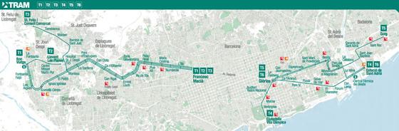 Barcelona_Openbaar-vervoer-tram