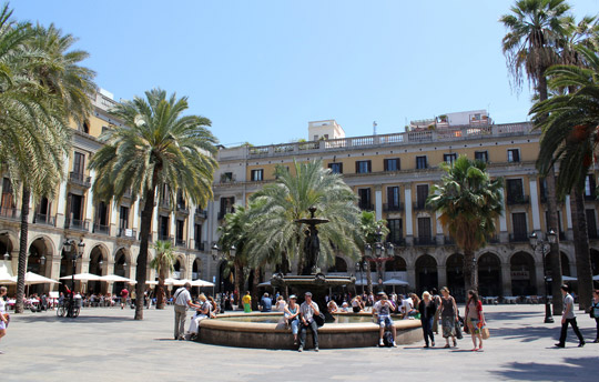 Barcelona_Placa-Reial
