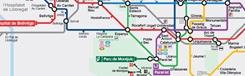 Metro Barcelona: Plattegrond