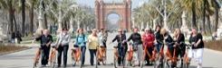 Fietsend de highlights van Barcelona bekijken