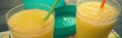 IJsschaafsel met citroen en suiker