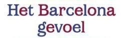 Edwin Winkels - Het Barcelona gevoel